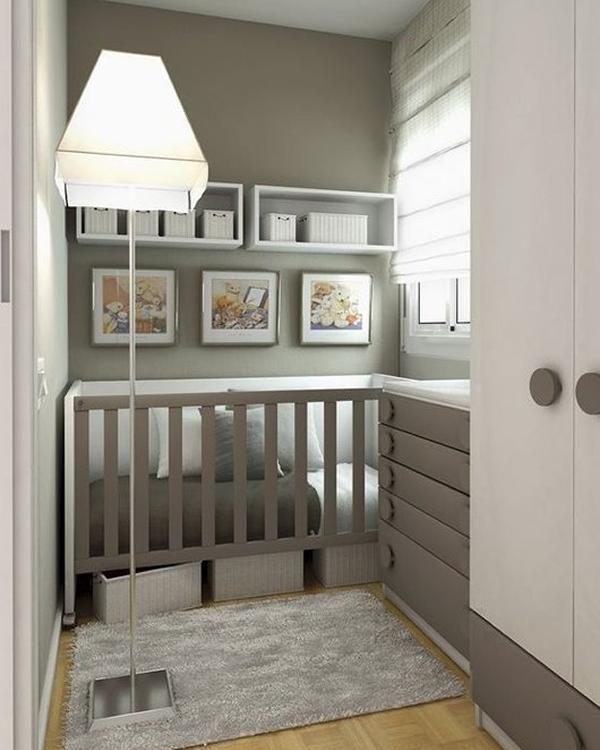 Como adaptar una habitación con poco espacio a las necesidades del bebé