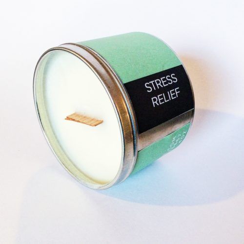 Home Fragrance   Poepa Soap - STRESS RELIEF SOY CANDLE