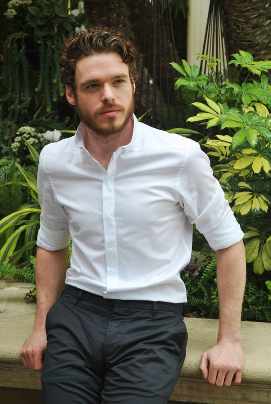 """Richard Madden as Beau & Duane in """"Beauty and the Mustache"""" by Penny Reid"""