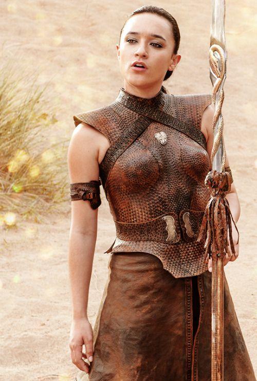 Obara Sand - Keisha Castle-Hughes in Game of Thrones Season 5.