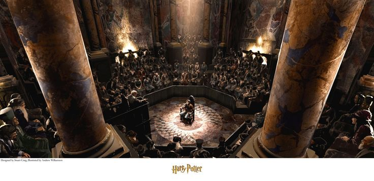 Harry Potter - The Trial - Stuart Craig - World-Wide-Art.com - #harrypotter #jkrowling #stuartcraig