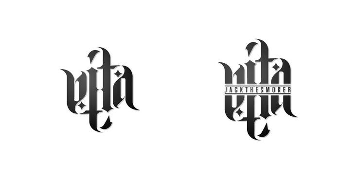 V.Ita Jack the Smoker - Logotype.  Riccardo Fregosi