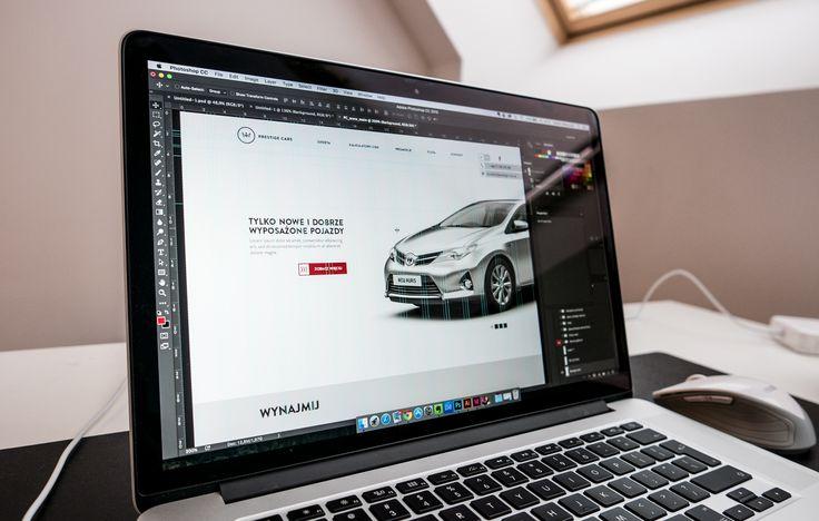 """Sneak Peak. Prestige Cars.  Reaktywujemy wrocławską markę. Podwójne uderzenie - """"Prestige"""" w nazwie, korona w sygnecie. ;)  ----  Sneak peak. Prestige Cars.  Revitalisation of the Wrocław-based brand."""
