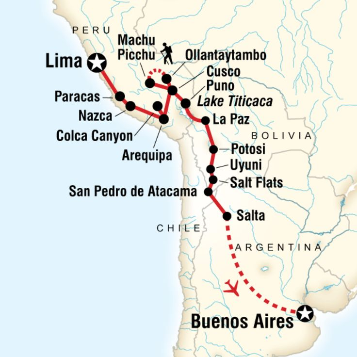 g adventures south america trip itinerary
