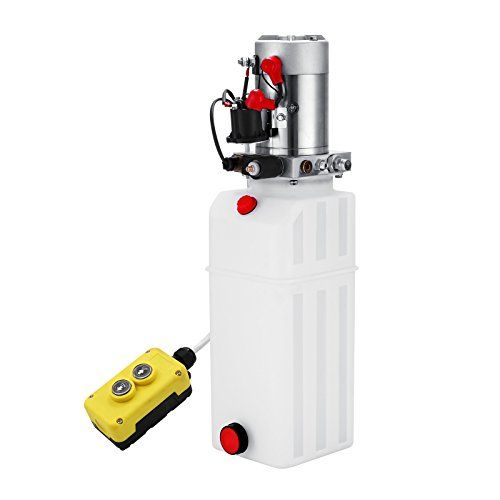 OrangeA Hydraulic Pump 10 Quart Single Acting Hydraulic Power Unit 12V DC Plastic Tank Hydraulic Pump Unit for Dump Trailers Remotely Controlled  Acting:Single acting Power-Up/Power-Down;Reservoir Capacity: 10 Quart Steel Reservoir;Displacement of hydraulic pump: 0.562-4.350GPM  Acting:Single acting Power-Up/Power-Down;Reservoir Capacity: 10 Motor voltage: DC12-DV24 AC220-380;Rated speed: 2850R/MIN;Motor power: 0.37-5.5KW; Flow: 2.0GPM;3200 PSI Max. Relief Setting For Increased Lifting...