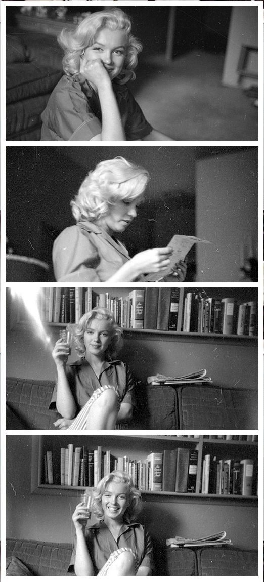 Marilyn Monroe. Photos by Milton Greene, 1953.
