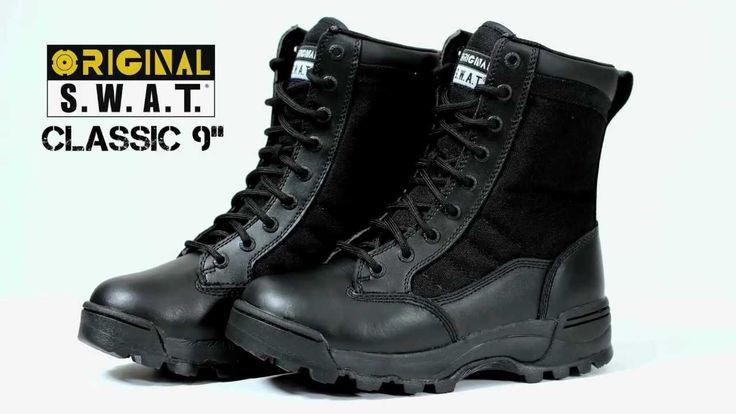 "Best Women's Combat Boots - Classic 9"" - 115011 - Original SWAT Boots"