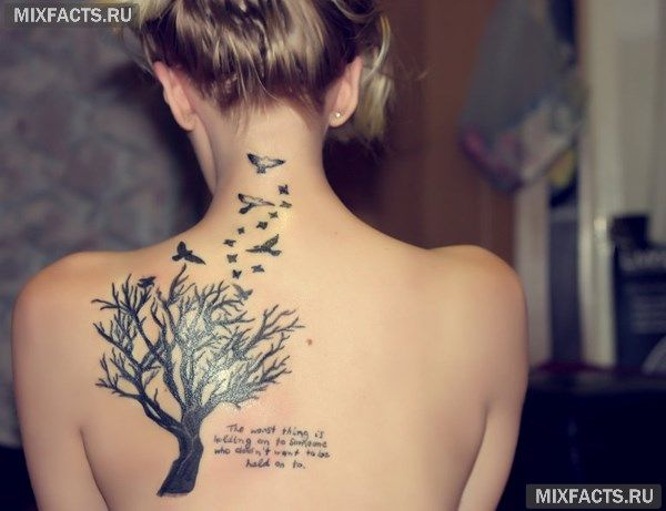 татуировки-надписи