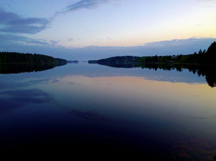 Lake Kitka in Kuusamo, Finland. Lumia 1020 photo by Auvo Veteläinen.