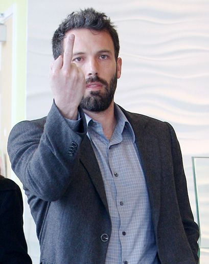 Ben Affleck in what may be his best performance to date. Look at the emotion - definitely an Oscar worthy performance.