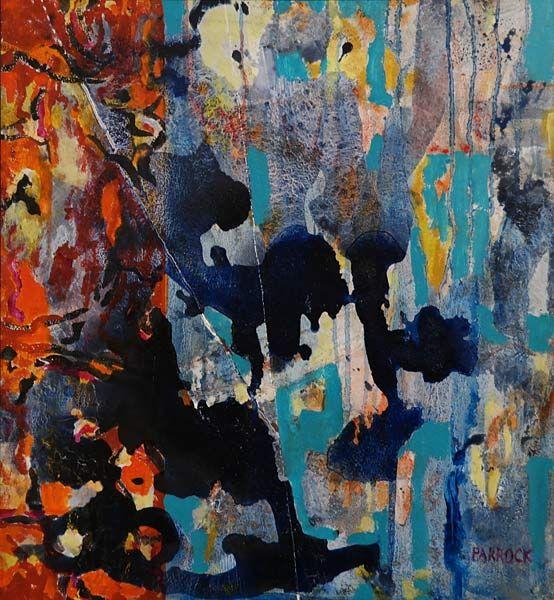 Gretchen Parrock  Intercept Acrylic on canvas | Association of Arts Pretoria Members Exhibition 2015 | www.art.co.za/gretchenparrock.html