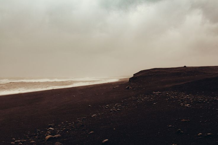 https://flic.kr/p/AHnMJb | Stormy black sand beach | Iceland  Instagram | VSCO | 500px