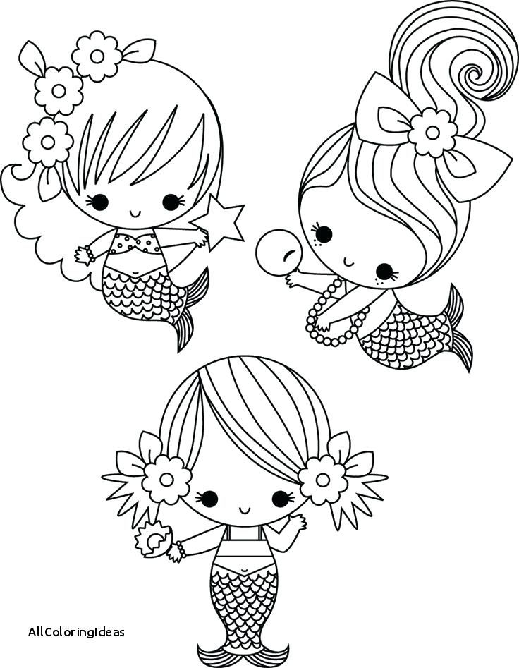 Baby Mermaid Coloring Page With Images Mermaid Coloring Pages