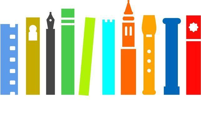Les couleurs et l'idée - Logotipo de la candidatura de Zaragoza a la Capitalidad Europea de la Cultura 2016.
