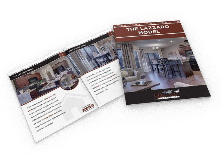 The Lazzaro is one of our duplex models, and it is fantastic! Get the free, full-colour brochure for all the details.
