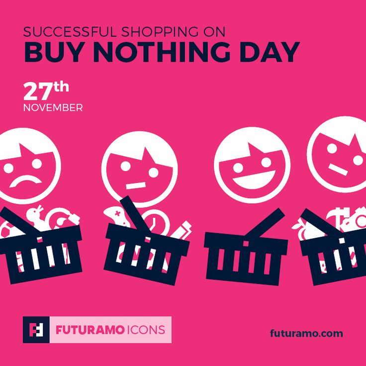 Successful shopping on Buy Nothing Day! All #icons used in the series are available in our App. Imagine what YOU could create with them! Check out our FUTURAMO ICONS – a perfect tool for designers & developers on futuramo.com #icondesign  #icons  #iconsystem  #pixel #pixelperfect  #flatdesign  #ux  #ui  #uidesign  #design #developer  #webdesign  #app  #appdesign #graphicdesign