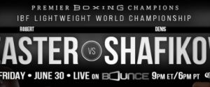 Robert Easter's World Title Defense Against Top Contender Denis Shafikov to be Live Streamed on Bounce's New Subscription Service Brown Sugar