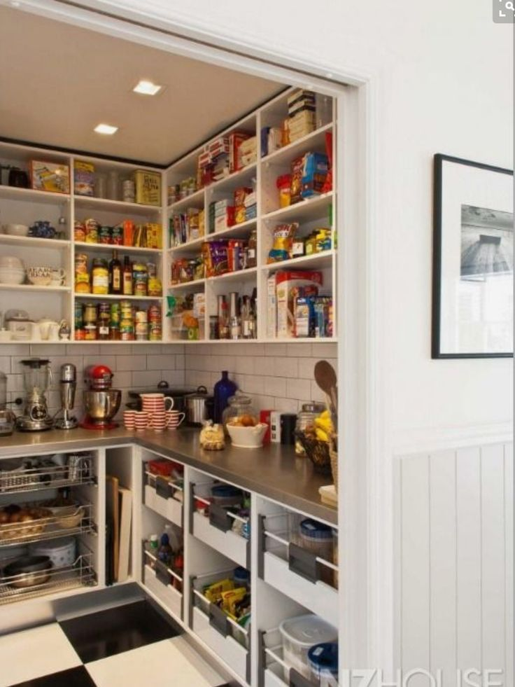 19 Best Images About Walk In Pantry Butlers Pantry On