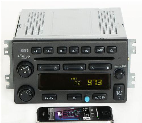 Hyundai Santa Fe 2003-06 Monsoon Radio AMFM 6 Disc CD w Bluetooth Music 12239439