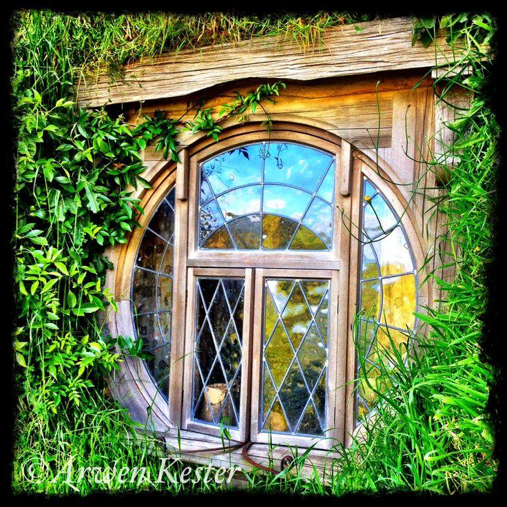 Hobbit window, hehehe....