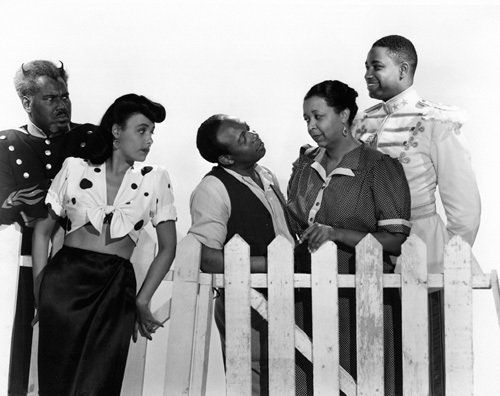 Rex Ingram, Eddie 'Rochester' Anderson, Lena Horne, Kenneth Spencer, Ethel Waters in Cabin in the Sky
