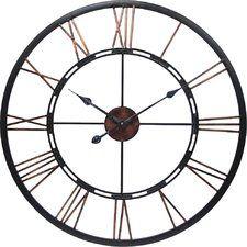 Oversized Wall Clocks You'll Love | Wayfair