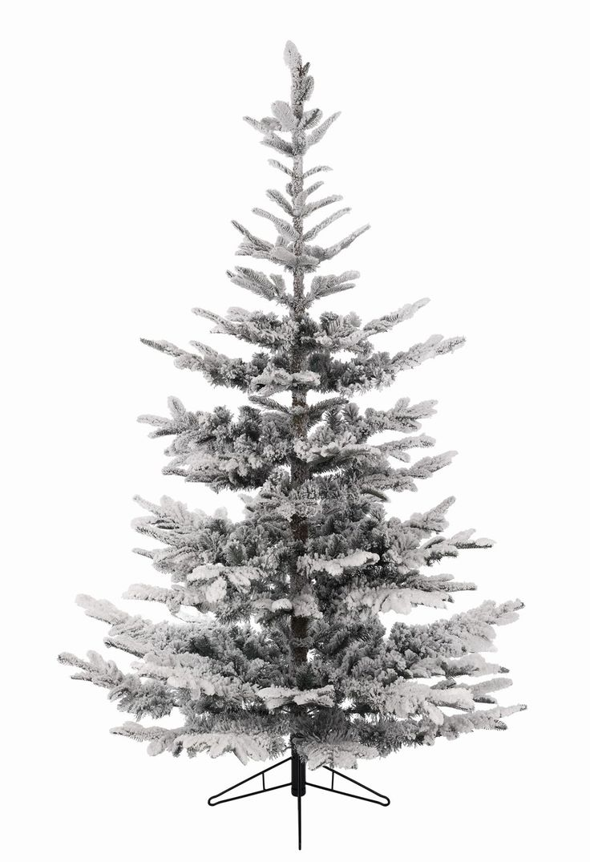 12ft Snowy Nobilis Fir Feel-Real Artificial Christmas Tree