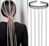 US $4.69  6% Off | Fashion stainless steel Hair Extension Long Chain Hip Hop Hair Clip Decoration Bar Party Makeup Hairband Accessories Jewelry - #Accessories #Bar #Chain #Clip #Decoration #Extension #fashion #Hair #Hairband #Hip #Hop #Jewelry #long #Makeup #Party #stainless #steel
