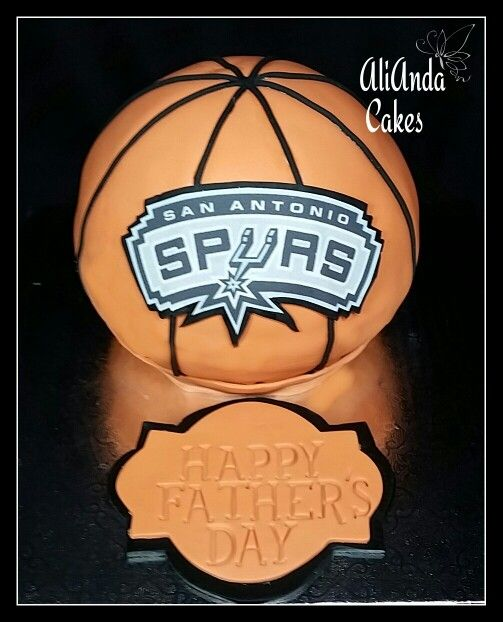29 San Antonio Spurs Cakes Images Pinterest Biscuits Father Day