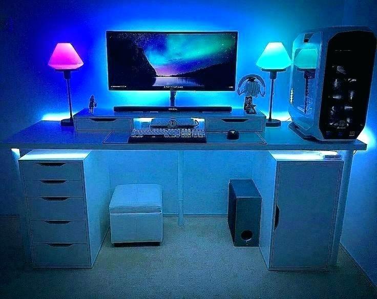 Led Strip Lights For Your Pc Room In 2021 Gaming Room Setup Room Setup Computer Desk Setup