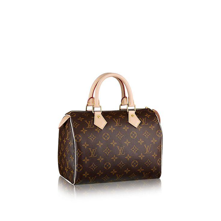 Speedy 25 Monogram Canvas - Handbags   LOUIS VUITTON
