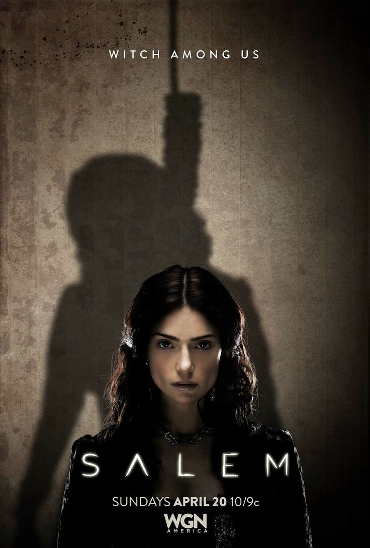 "Salem is a new Television Show that explores ""what really fueled the town's infamous witch trials and dares to uncover the dark, supernatural truth hiding behind the veil of this infamous period in American history."" (IMDb). #EvidenceOfHorror"