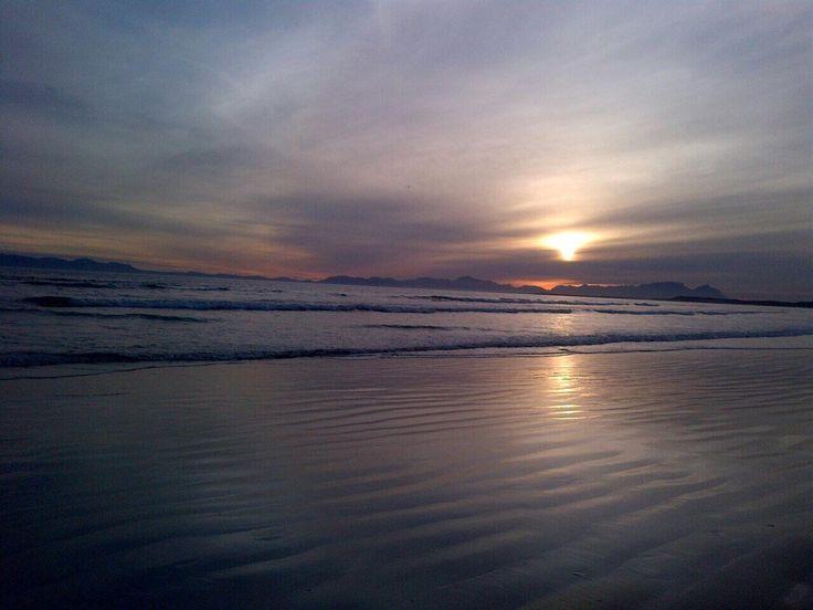 Strand beach, Cape Town