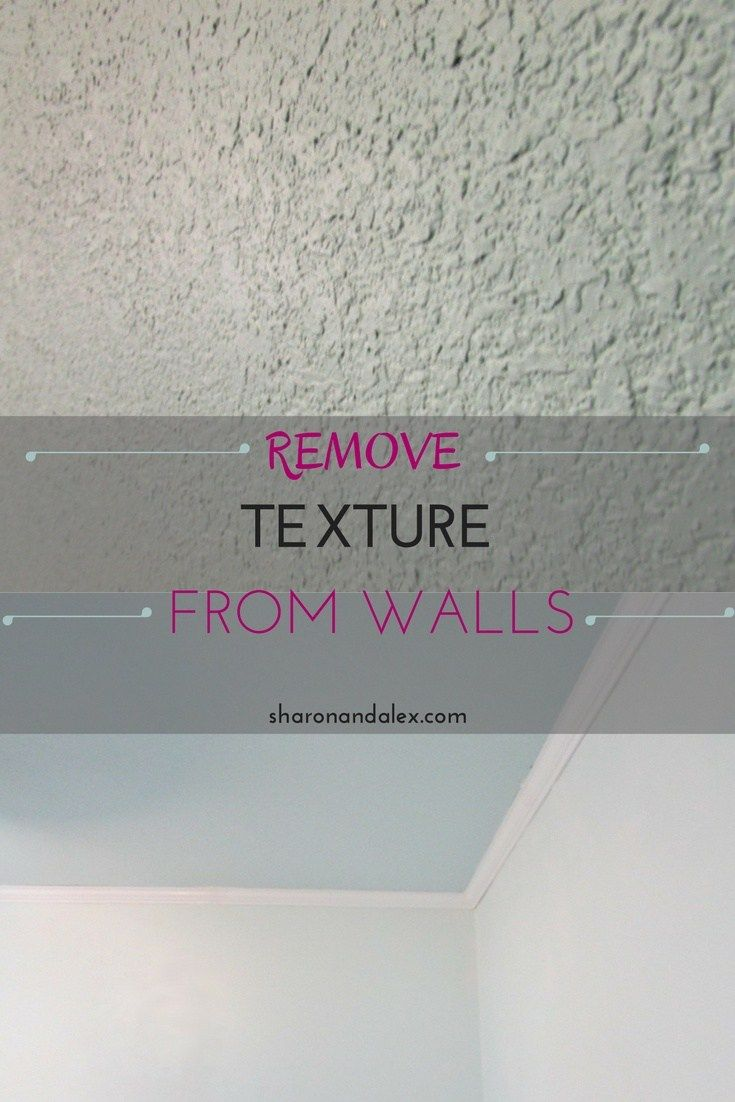 Remove Texture From Walls By Skim Coating Sharon And Alex