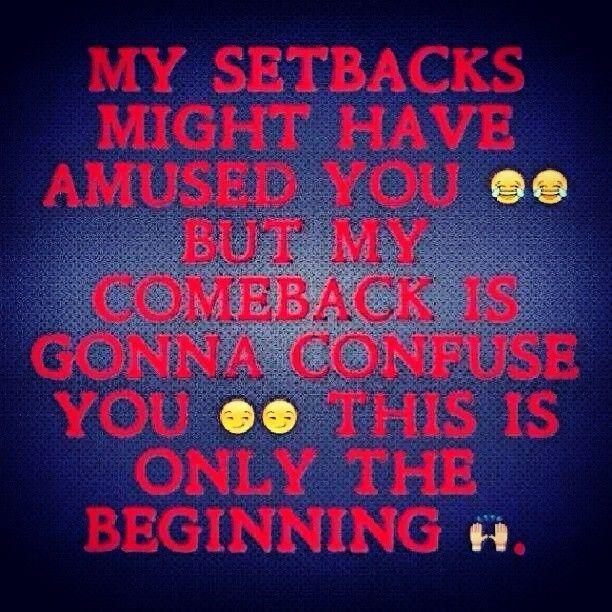 Setback Quotes. QuotesGram