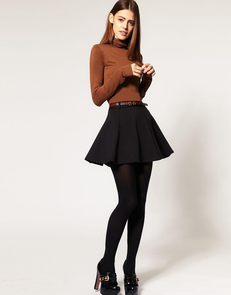 Ponti mini skirt