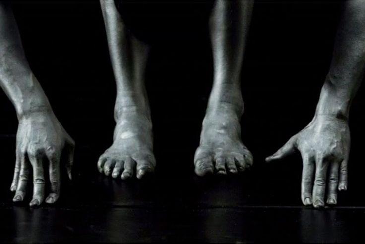 Body of a Dancer   in the studio