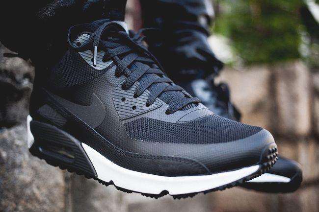 Nike Air Max 90 Sneaker Boot NS Volt Black White