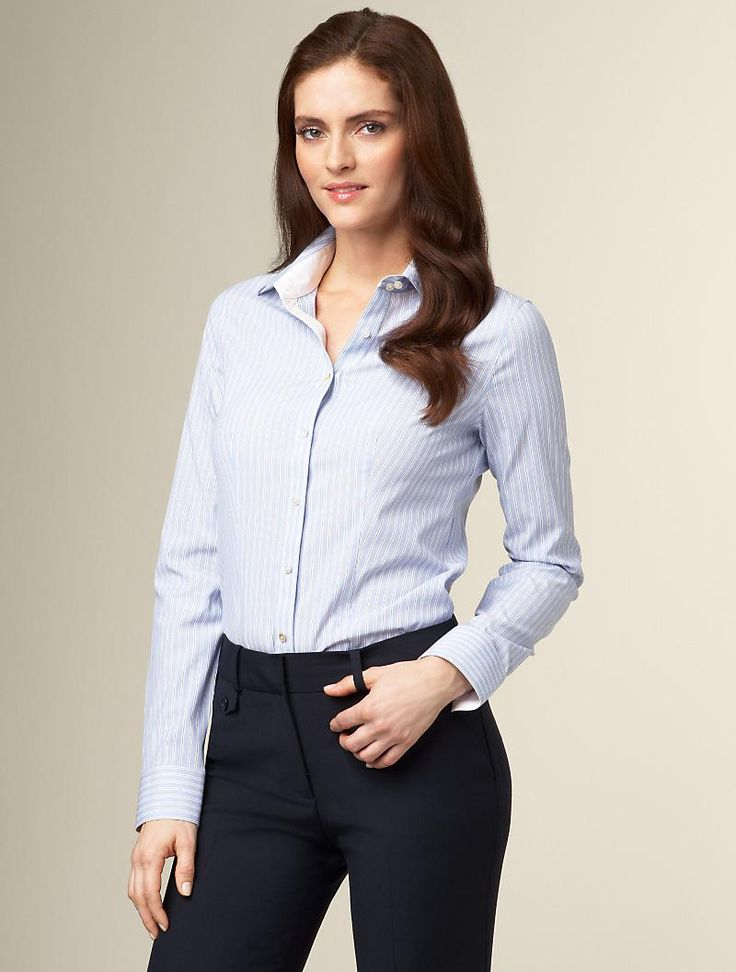 Collared Shirt With Dress Pants What To Wear Women