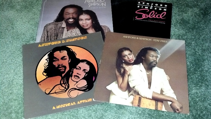 """Nicholas Ashford and Valerie Simpson (front covers) There is too much to say about this power couple. I may be wrong but when it came to most of my old Motown collection it seems that if the song was written by Smokey or Marvin it was written by Ashford & Simpson. in 1966 Ashford & Simpson joined Motown, where their best-known songs included """"Ain't No Mountain High Enough"""", """"You're All I Need To Get By"""", """"Ain't Nothing Like the Real Thing"""", and """"Reach Out and Touch (Somebody's Hand)"""
