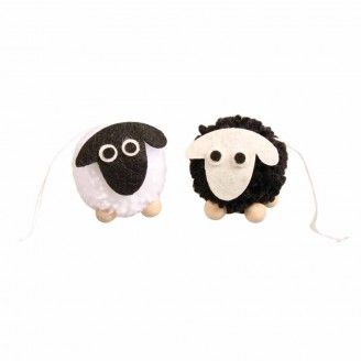 Pompon Mouton 5 cm (1 pièce) - Rayher