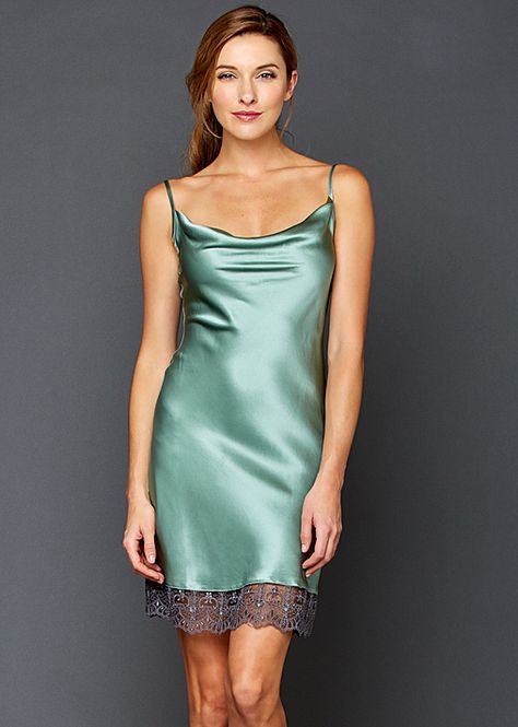5996f6fc2f Camille Silk nightgown