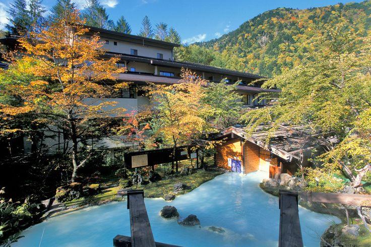 Shirahone Hot Spring, Nagano Prefecture, Japan