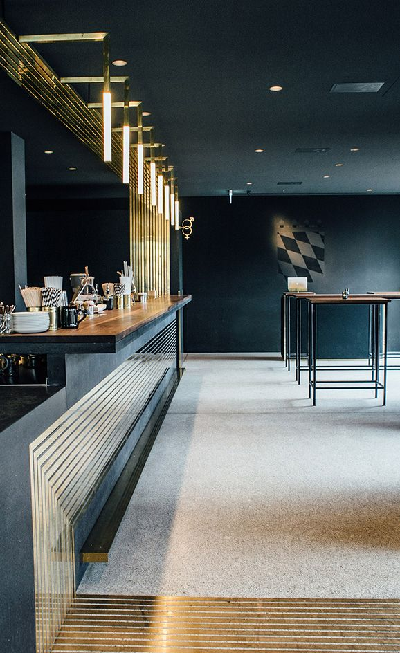 Designed By Zurich Based Architecture Firm Build Inc, Munichu0027s Newest Bar  Is A Sexy