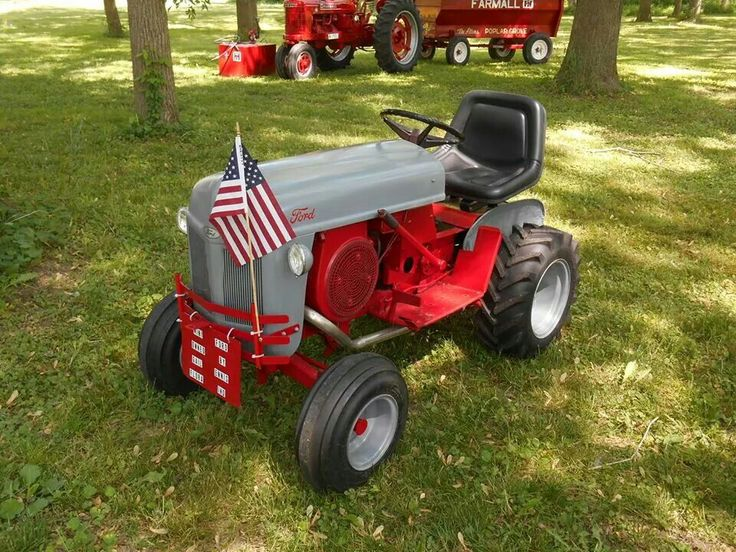 12 best images about ford garden tractors on pinterest for Ford garden tractor