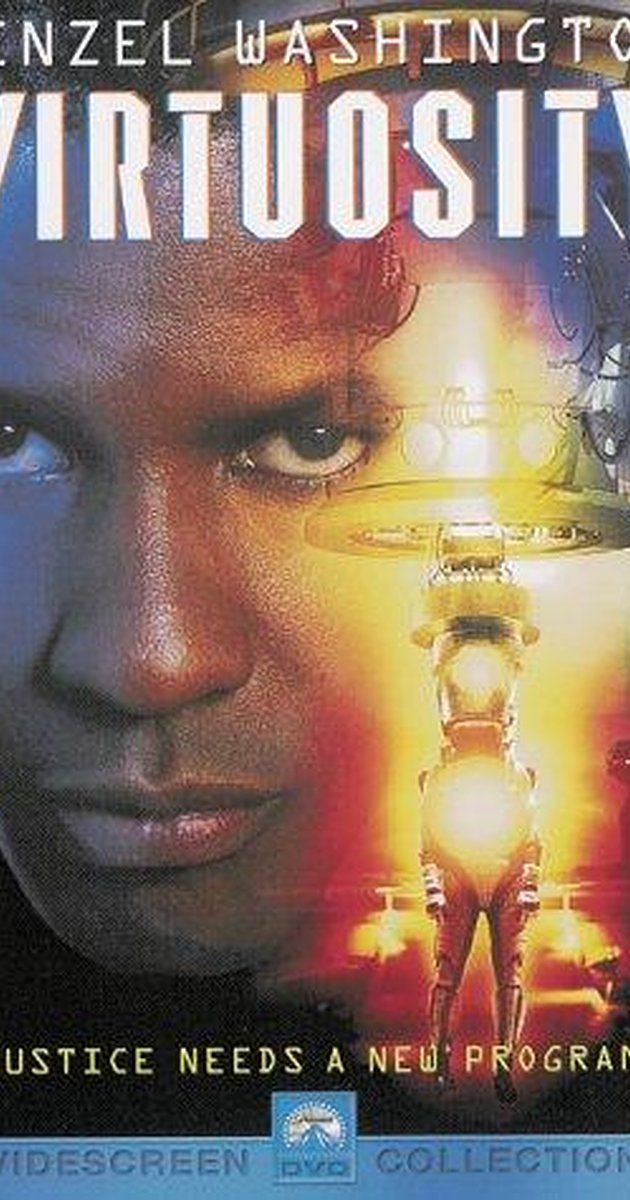 Directed by Brett Leonard.  With Denzel Washington, Russell Crowe, Kelly Lynch, Stephen Spinella. A virtual-reality serial killer manages to escape into the real world.