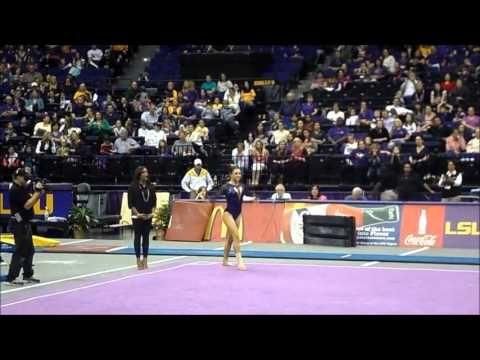 LSU Gymnastics  (the routine beginning at 2:55 is my favorite)