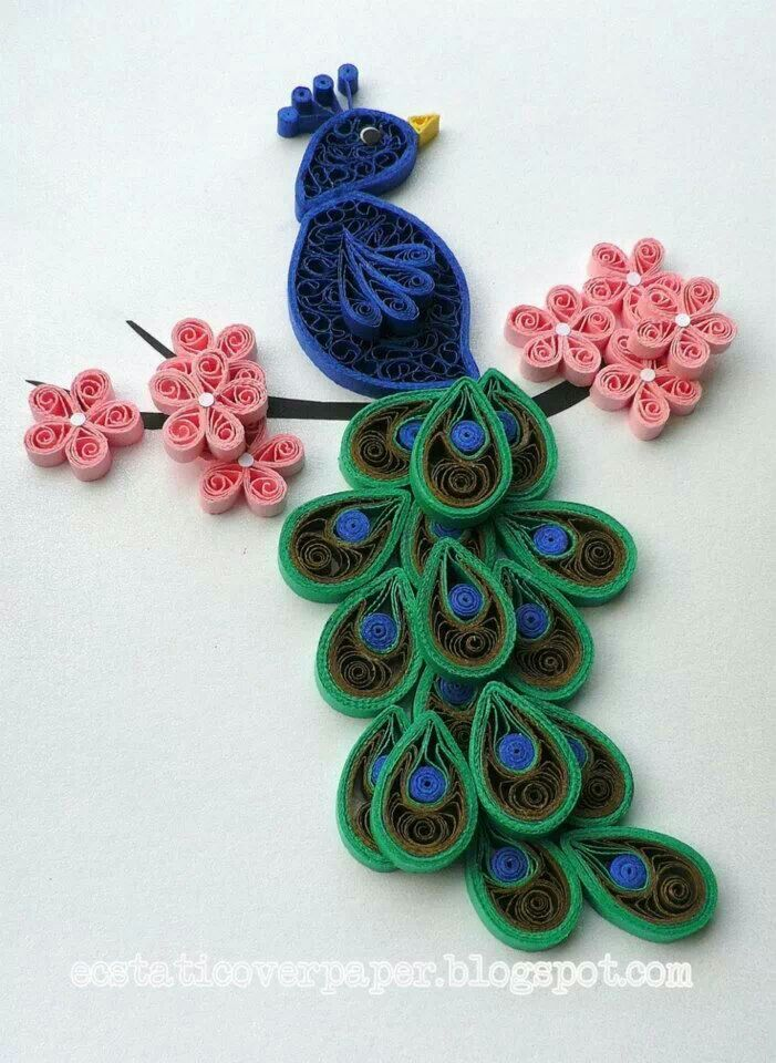 By quilling art paper quilling wall frames pinterest for Paper quilling paper
