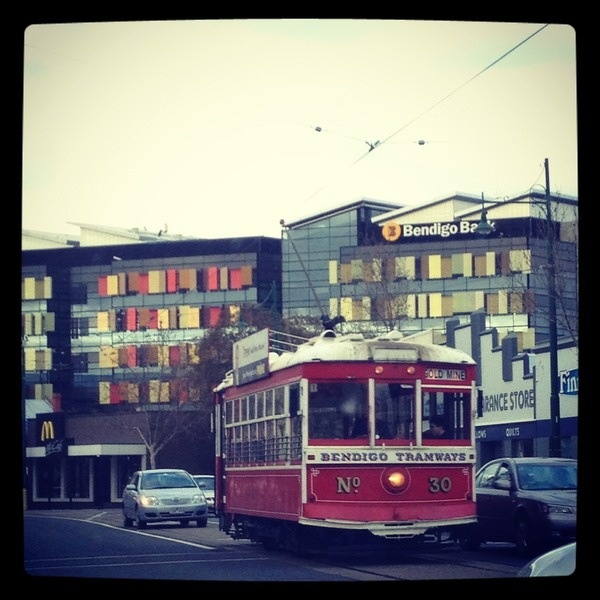 Day27: Business - Bendigo Trams by @BeckChalmer Here is #business for #BendigoTalksAugPhotoADay
