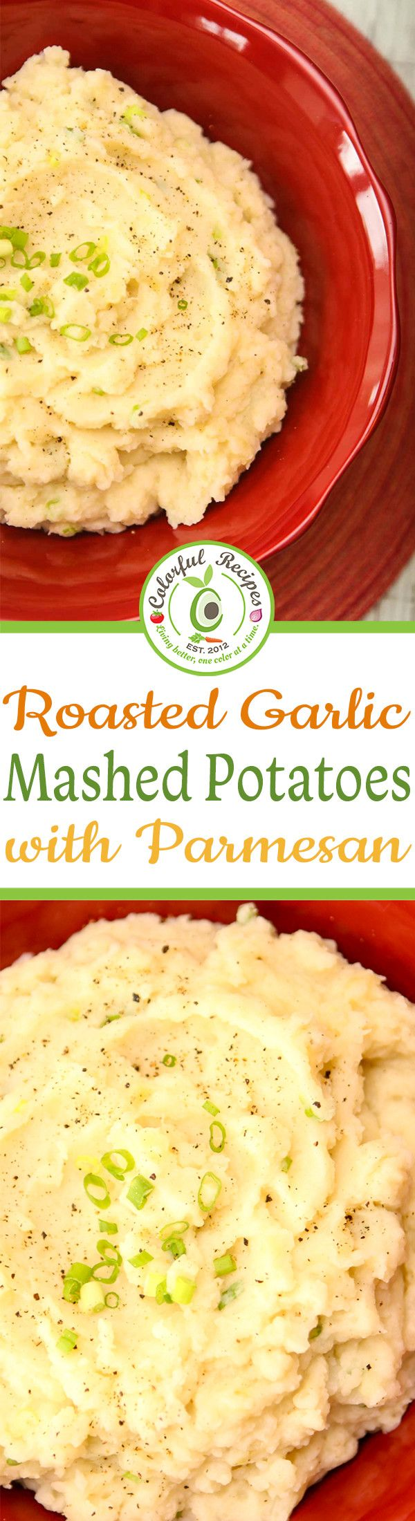 Let's just be honest though. Mashed potatoes are T-H-E ultimate comfort food…for I'm pretty sure, everyone! This roasted garlic parmesan mashed potatoes is full of flavor and is ready in 35 minutes!